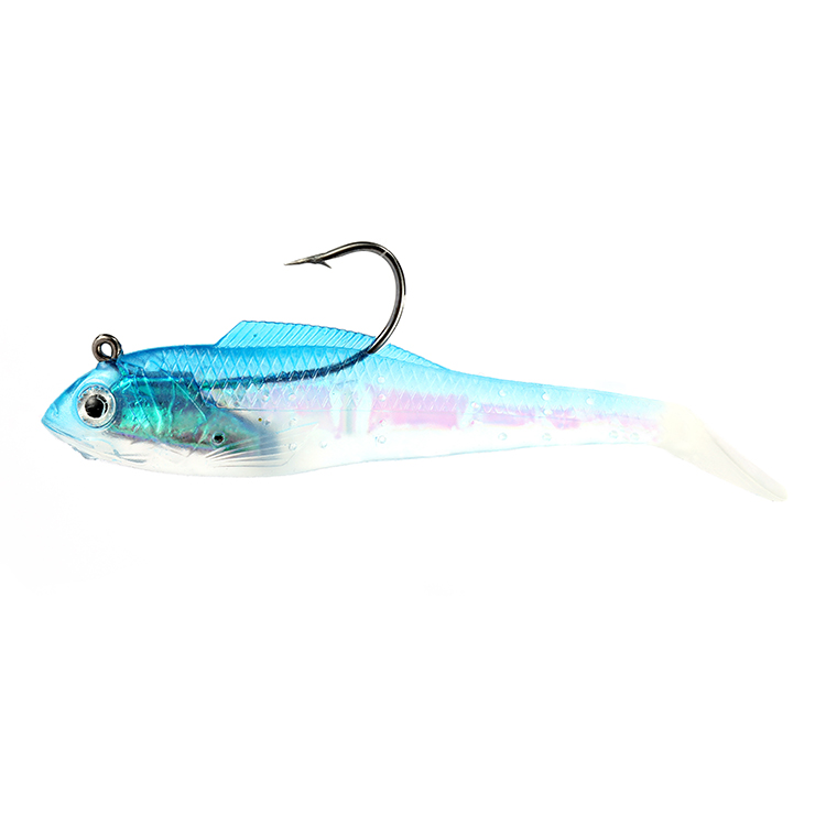11cm Spinners Vibe Lead Head Jig Soft Plastic Fishing Bait Lure Supplier